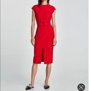 NWT Zara Red Body com dress